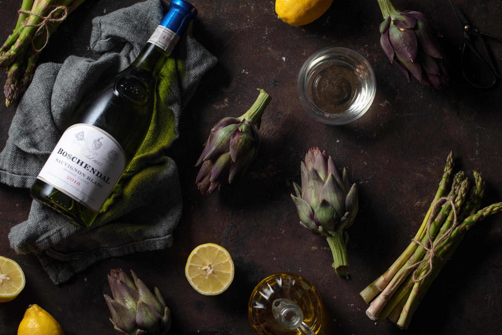 Boschendal 1685 Sauvignon Blanc styled fresh greens